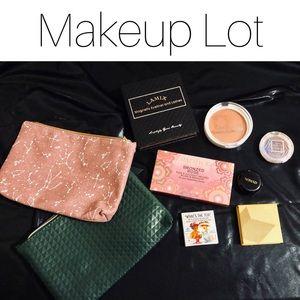 Makeup Lot 💋Eyeshadow Bronzer Eyelashes Blush NEW